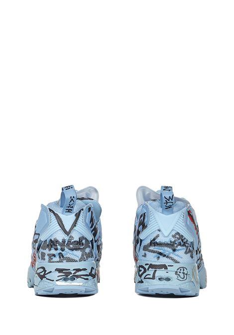 Vetements Instapump Fury Graffiti Sneakers Vetements | 1718629338 | UAH21SN244BLUE