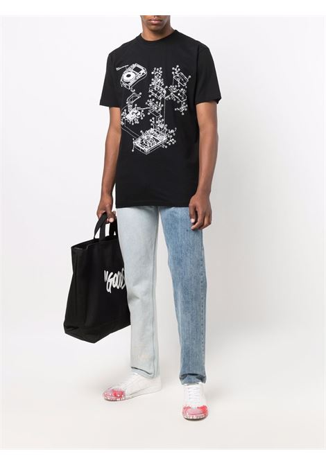 Off-White X Pioneer Dj SE_Console 2 T-shirt  Off-White   8   OMAA027G21JER0031059