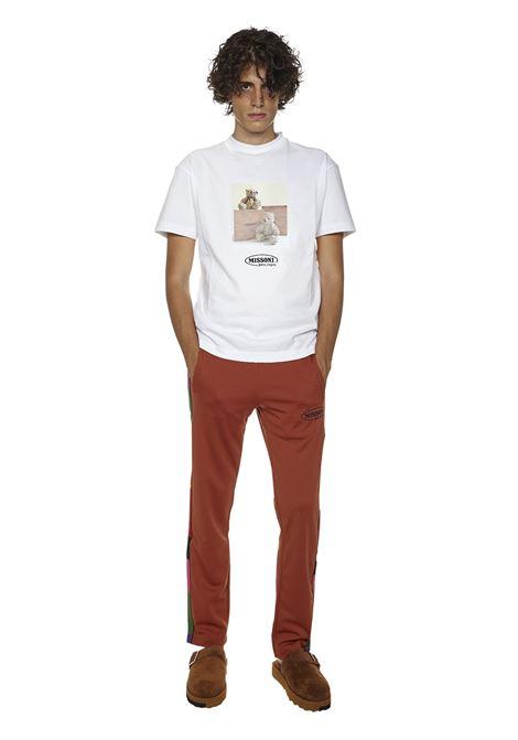 Palm Angels X Missoni Track Trousers Palm Angels | 1672492985 | PMCA007F21FAB0122701