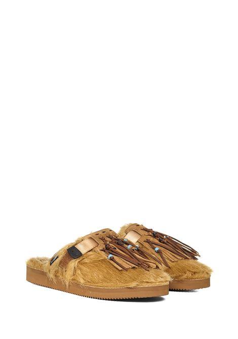 Alanui x Suicoke Zavo Fur Sliders Alanui | -132435692 | LMIC001F21LEA0026060