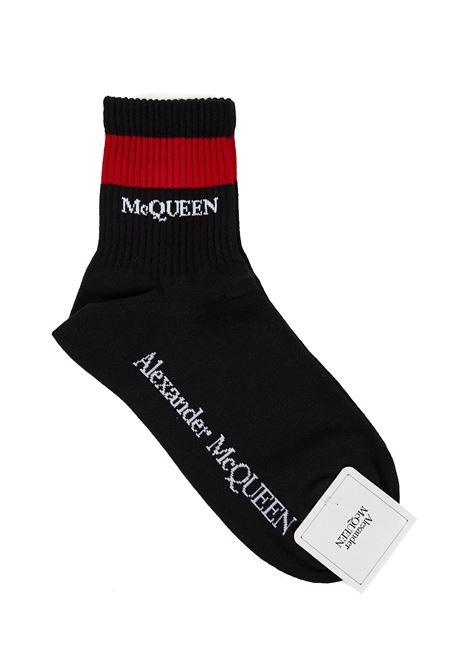 Alexander McQueen Stripe Socks Alexander McQueen | -1289250398 | 6454223D16Q1074
