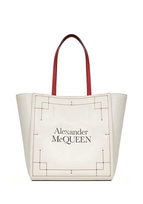 Alexander McQueen Signature Tote Bag  Alexander McQueen   77132927   6482311YB189090
