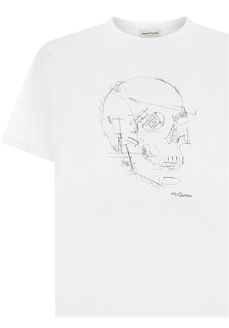 T-shirt Alexander McQueen Alexander McQueen   8   666623QRZ7A0900