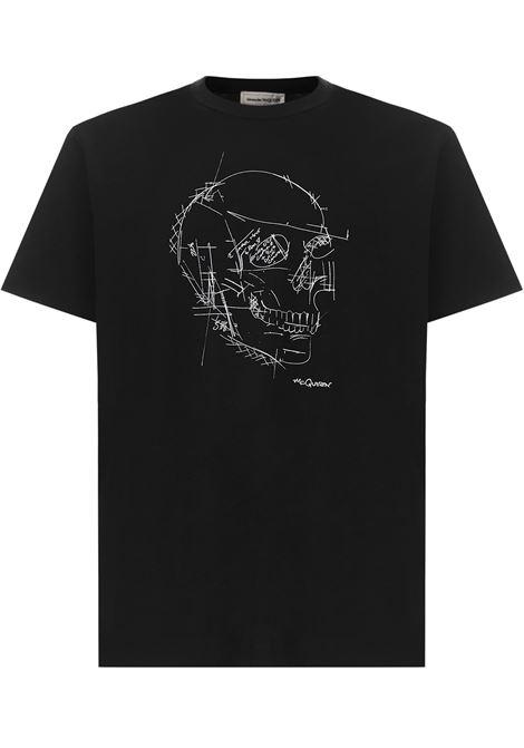 T-shirt Alexander McQueen Alexander McQueen   8   666623QRZ7A0901