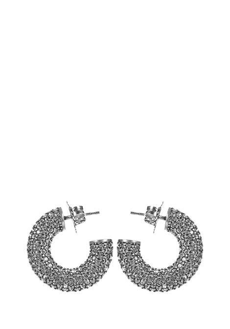 Amina Muaddi Cameron Mini Earrings Amina Muaddi | 48 | CAMERONHOOPMINIWHITE