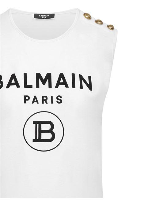 Balmain Paris Tank top  Balmain Paris | -1740351587 | UF11000I386GAB
