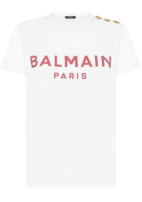 Balmain Paris T-shirt  Balmain Paris | 8 | VF11350B001GBY
