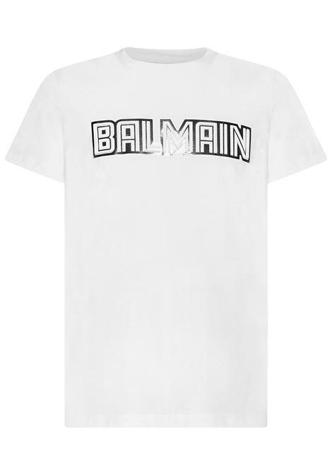 Balmain Paris T-shirt  Balmain Paris   8   WH0EF000B160GAC