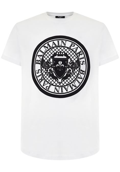 Balmain Paris T-shirt Balmain Paris   8   WH1EF010B144GAB