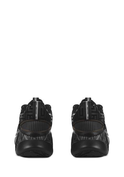 Balmain Paris B-Runner Sneakers  Balmain Paris   1718629338   WM1VI261TRMM0PA