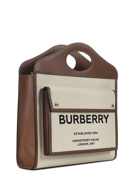 Burberry Pocket Medium Tote Bag Burberry   77132927   8039362A1395