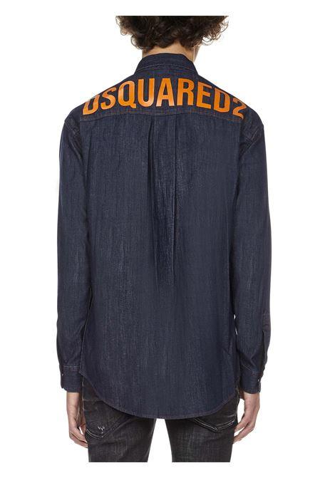 Camicia Back Logo Drop Dsquared2 Dsquared2 | -1043906350 | S74DM0525S30341470