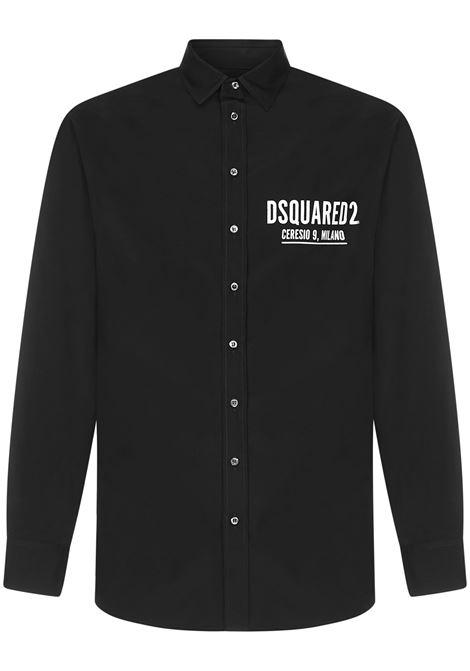 Camicia Ceresio 9 Dsquared2 Dsquared2 | -1043906350 | S74DM0535S36275900