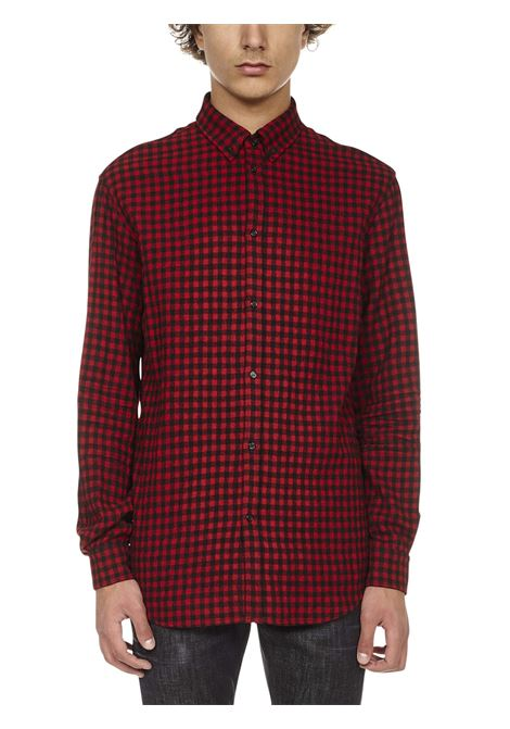 Camicia Check Relaxed Dsquared2 Dsquared2 | -1043906350 | S74DM0552S54001001F