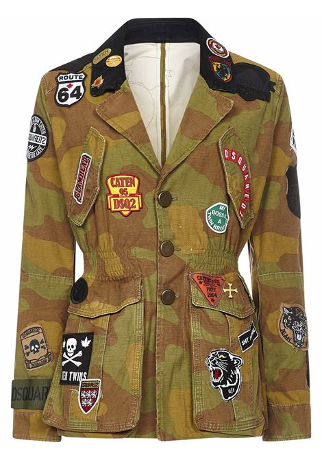 Dsquared2 Camouflage Patch Blazer Dsquared2 | 3 | S75BN0801S49605001F