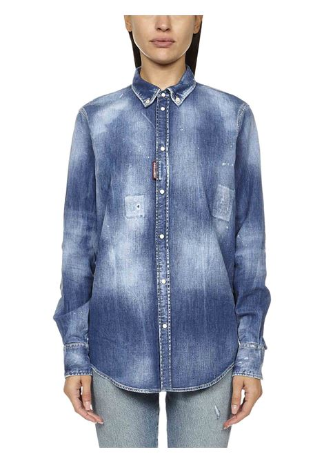 Dsquared2 Patch Western Shirt Dsquared2 | -1043906350 | S75DL0774S30341470
