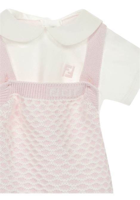 Fendi Kids Romper Suit Fendi Kids | -1763547424 | BUG069AEKBF0C11