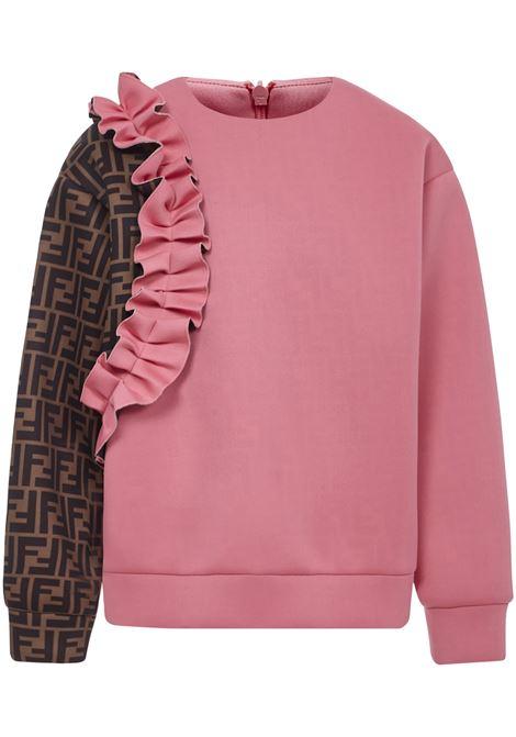 Fendi Kids Sweatshirt Fendi Kids   -108764232   JFH110A8LGF18B2