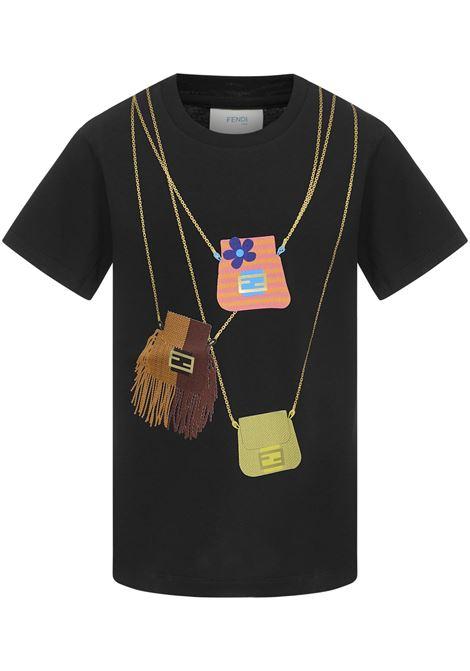 Fendi Kids T-shirt  Fendi Kids   8   JFI2207AJF0GME