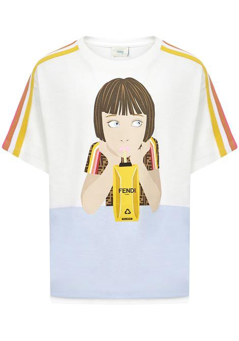 T-shirt Fendi Kids Fendi Kids   8   JFI2217AJF0TU9