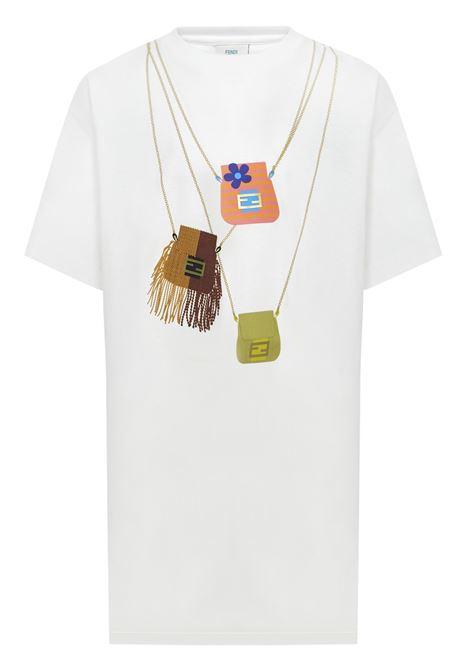 Fendi Kids T-shirt Fendi Kids   8   JFI2267AJF0TU9