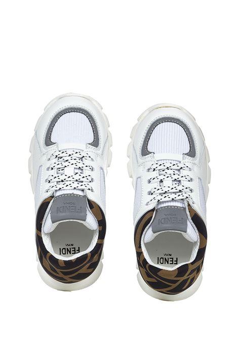 Fendi Kids Running Sneakers Fendi Kids | 1718629338 | JMR334A8CJF15EU