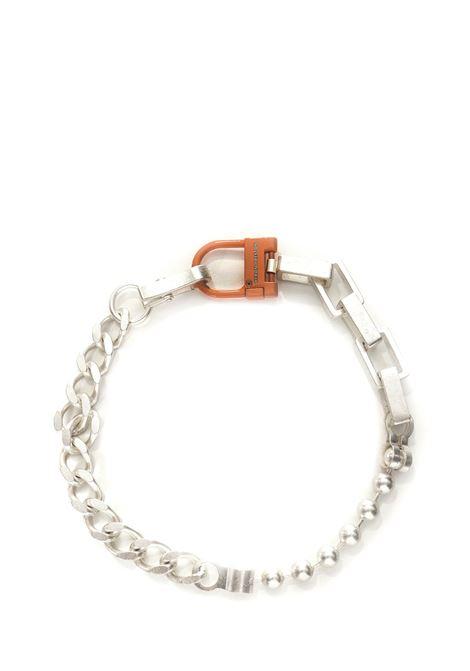 Heron Preston Multichain Necklace  Heron Preston   35   HMOB014F21MET0017222