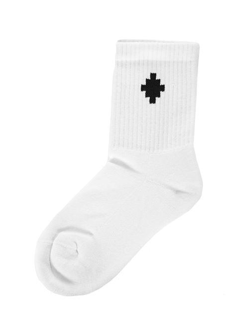 Marcelo Burlon Kids Cross Socks Marcelo Burlon Kids | -1289250398 | CBRA001F21KNI0010110