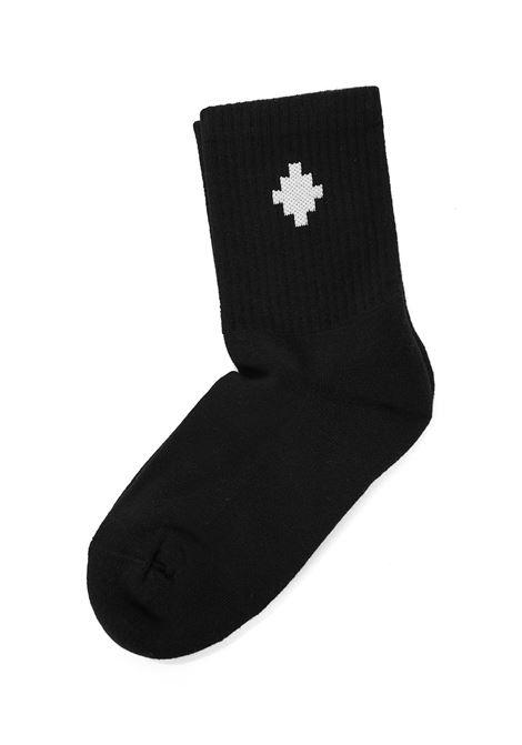 Marcelo Burlon Kids Cross Socks Marcelo Burlon Kids | -1289250398 | CBRA001F21KNI0011001
