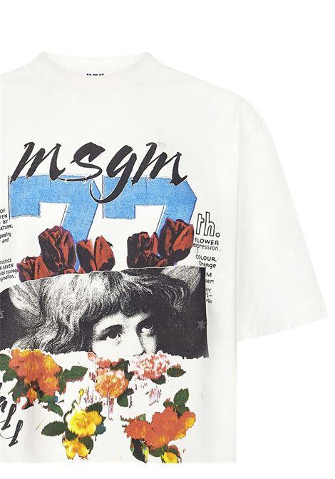 T-shirt Msgm Msgm | 8 | 3141MDM16021779802