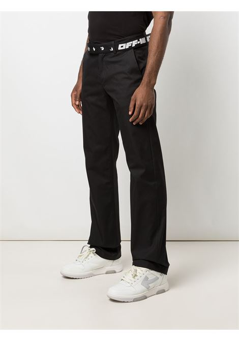 Off-White Trousers Off-White   1672492985   OMCG025S21FAB0011001