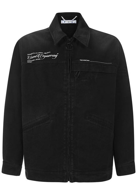 Pioneer DJ c/o Off-White™ SE_Console Jacket Off-White | 13 | OMEA210G21FAB0011059