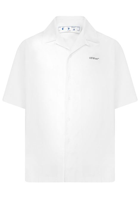 Off-White Caravaggio Lute Holiday Shirt Off-White | -1043906350 | OMGA196F21FAB0040184
