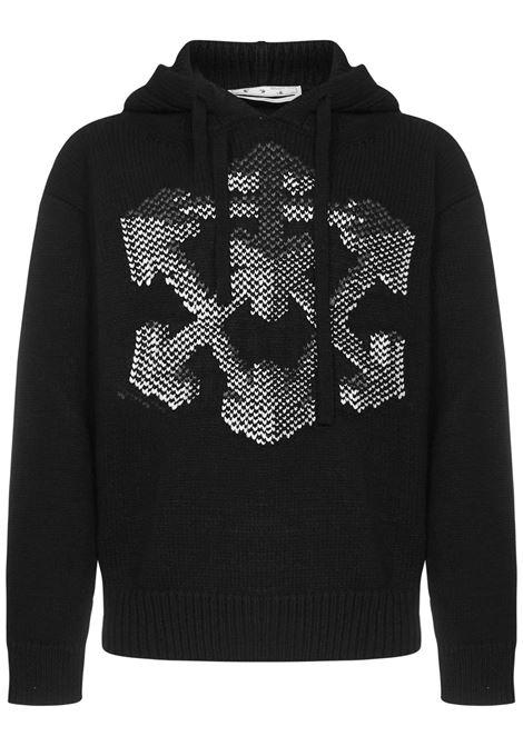 Off-White Arrows 3D Sweater Off-White | 7 | OMHA128F21KNI0021009