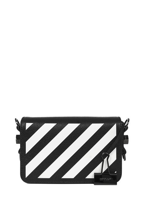 Off-White Diag Mini Flap Shoulder bag  Off-White | 77132929 | OWNA038R21LEA0011001