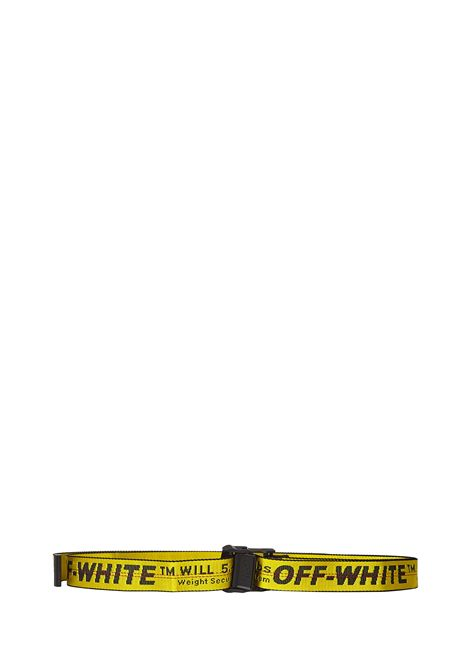 Off-White Classic Industrial Belt  Off-White | 1218053011 | OWRB009F21FAB0011810
