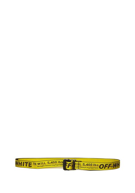 Off-White Classic Industrial Belt  Off-White | 1218053011 | OWRB009R21FAB0011810