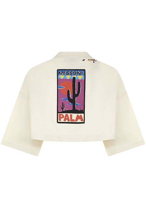 T-shirt Palm Angels X Missoni Palm Angels | 8 | PWAA040F21JER0030384