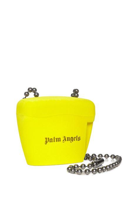 Palm Angels Mini Padlock Shoulder Bag Palm Angels   77132929   PWNQ002F21LEA0011810