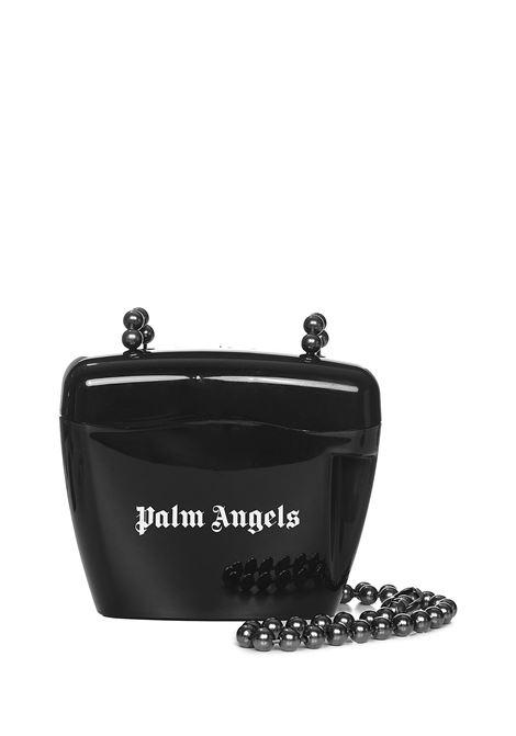 Palm Angels Mini Padlock Shoulder Bag Palm Angels   77132929   PWNQ002F21PLA0011001