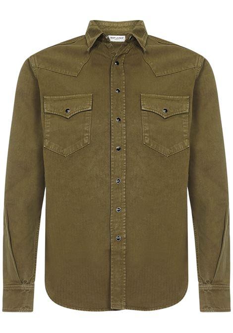 Saint Laurent Western Shirt Saint Laurent | -1043906350 | 597059Y27BA3256