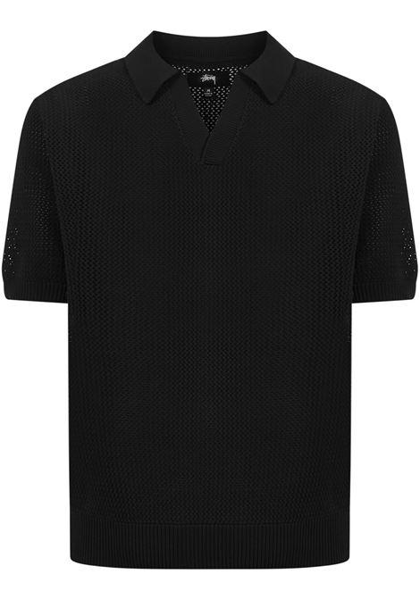 Stussy Polo shirt Stussy   2   117089BLAC