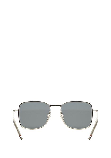 Thom Browne Sunglasses TB177 Sunglasses Thom Browne Sunglasses | 1497467765 | TB117WHITEGOLD