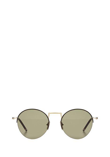 Thom Browne Sunglasses TB118 Sunglasses Thom Browne Sunglasses | 1497467765 | TB118WHITEGOLD