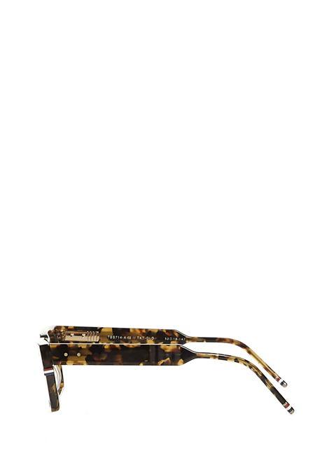 Thom Browne Sunglasses TB714 Sunglasses Thom Browne Sunglasses | 1497467765 | TB714TORTOISEWHITEGOLD