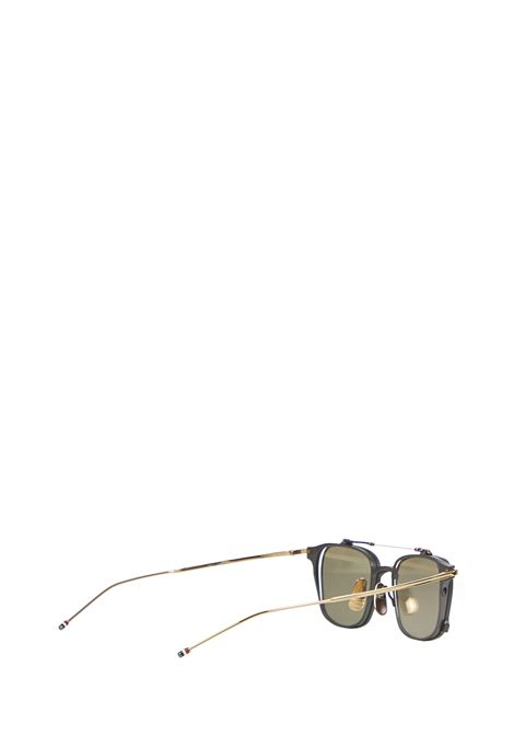 Thome Browne TBS118 Sunglasses  Thom Browne Sunglasses | 1497467765 | TBS817A01BLACKIRON