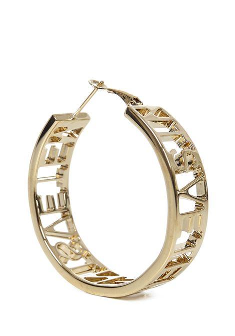 Vetements Logo Hoop Earrings Vetements | 48 | WE51EA100GGOLD