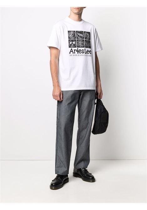 Aries X Lee Coin T-shirt  Aries | 8 | L63RMX12WHT