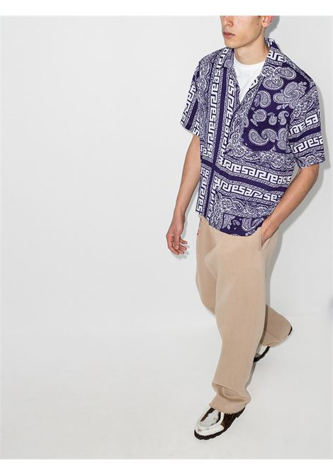 Aries Bandana Print Shirt  Aries | -1043906350 | SRAR40110NVY