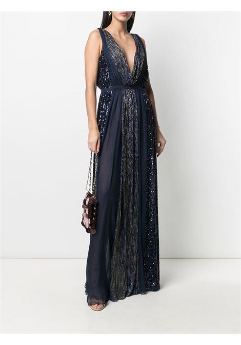 Azzaro Fedora Long Dress Azzaro | 11 | FW20DR145AA19914BLUE